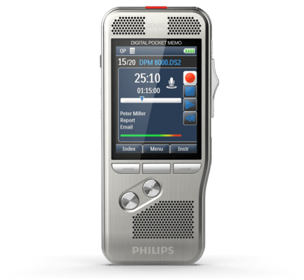 Philips DPM-8000 PocketMemo Voice Recorder