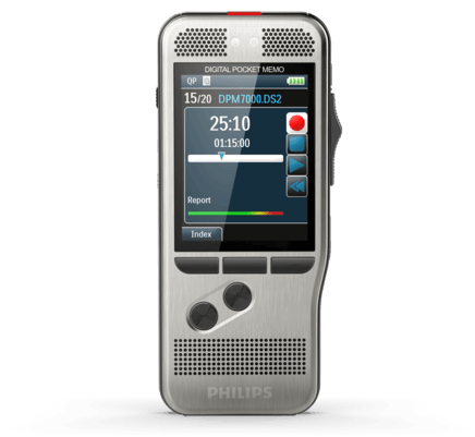 Philips DPM-7000 Professional Digital Pocket Memo DPM7000