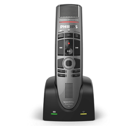 Philips SpeechMike Premium Air Wireless Dictation Microphone (SMP4000)