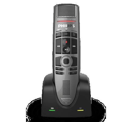 Philips SpeechMike Premium Air Wireless Dictation Microphone (SMP4000)