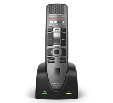 Philips SpeechMike Premium Air Wireless Dictation Microphone (SMP4010)